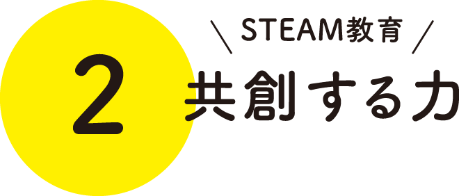 STEAM教育 共創する力